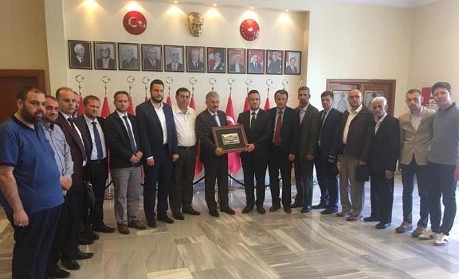 Kosova'lı din adamları İzmir'i ziyaret Etti