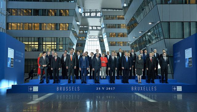 NATO Liderleri Toplandı