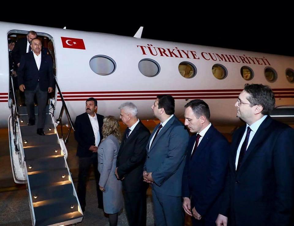 Çavuşoğlu Makedonya'yı ziyaret ediyor.