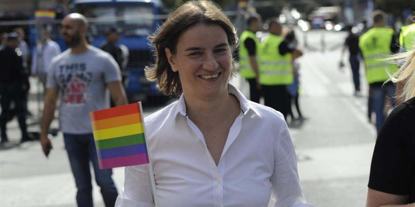 Sırbistan'a Eşcinsel Başbakan
