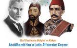 MANASTIR ALFABE KONGRESİ II.ABDÜLHAMİT TARAFINDAN FİNANSE EDİLDİ