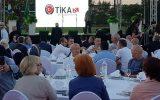 TİKA Organizasyonu ile Zagreb'te iftar verildi.