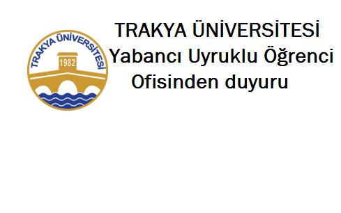 Türkiye'de Üniversite Okumak İsteyen Öğrencilere Duyuru