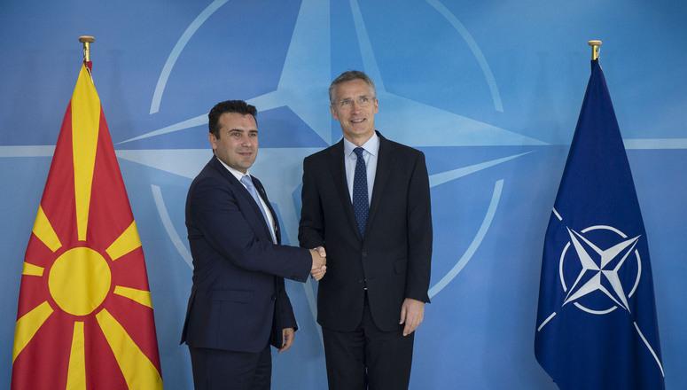 Nato Zaev'i İlgiyle Karşıladı