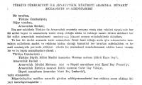 1923 Arnavutluk – Türkiye Resmi İlişkilerin Kurulması