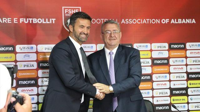 Arnavutluk Milli Futbol Takımında Christian Panuccidönemi.