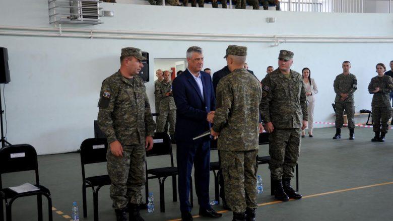 Thaçi: Hiç kimse Kosova'da Ordu kurulmasını veto edemeyecek.
