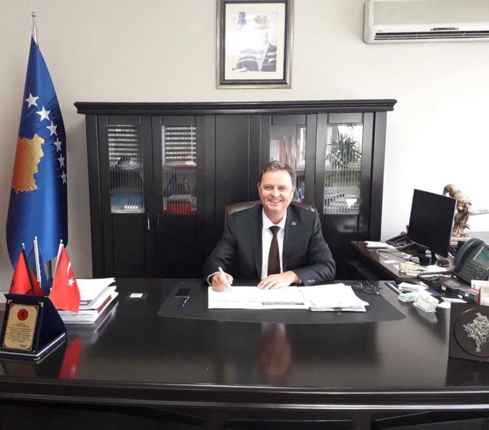 Kosova İstanbul Başkonsolosu Rrahim Morina'ya Veda