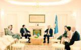 ABD Kongresi İstihbarat Komitesi Başkanı Devin Nunes Thaçi'yi ziyaret etti.