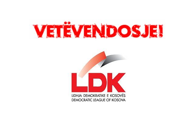 LDK, Vetevendosje ile koalisyon kurmak istiyor.