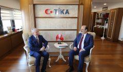Arnavutluk Heyeti TİKA'yı ziyaret etti.
