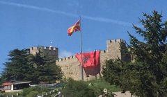 Arnavut Bayrağına Makedon Saygısızlığı