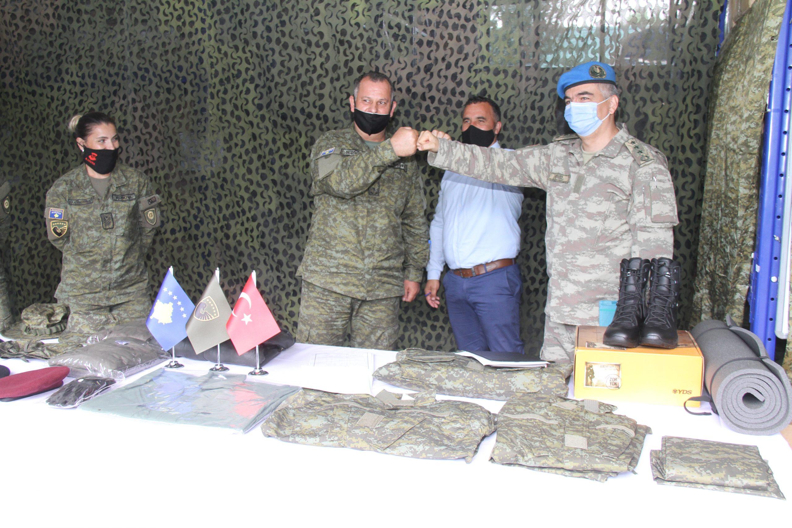 Türkiye'den Kosova Ordusuna Destek