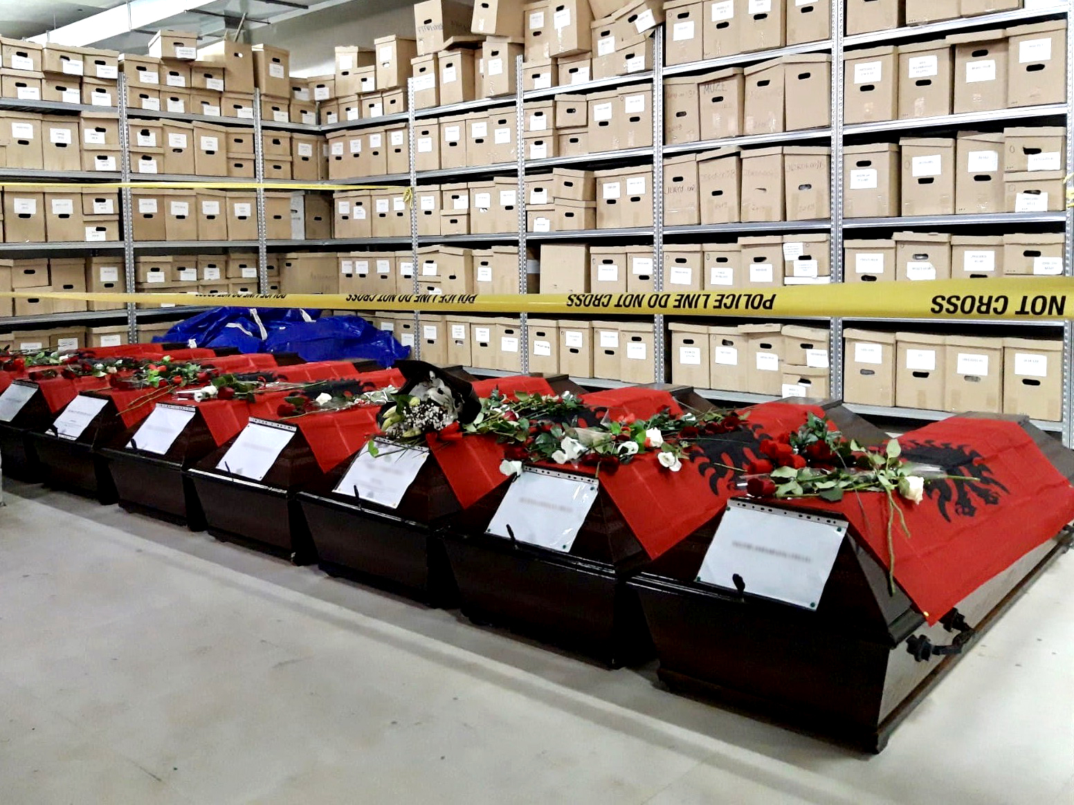 22 yıl sonra kemikleri Kosova'ya geldi