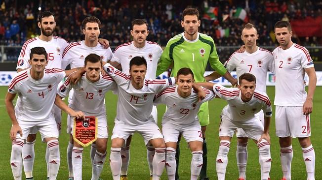 Arnavutluk FİFA listesinde 66. Sırada