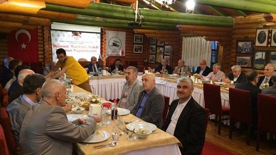 Tüm Balkanlılar Derneğinden RUTEV'e ziyaret.