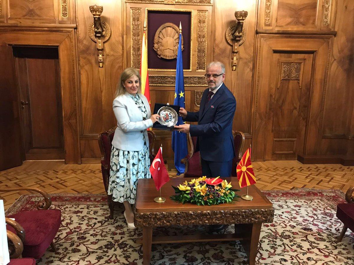 Meclis Başkanı Caferi Türkiye Büyükelçisini kabul etti.