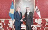 Haşim Thaçi Avusturya'yı Ziyaret etti.
