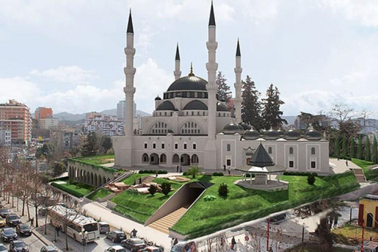 Arnavutluk Namazgah Camii 2018'de açılıyor.