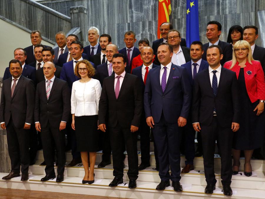 Makedonya'da Hükümet Güvenoyu Aldı