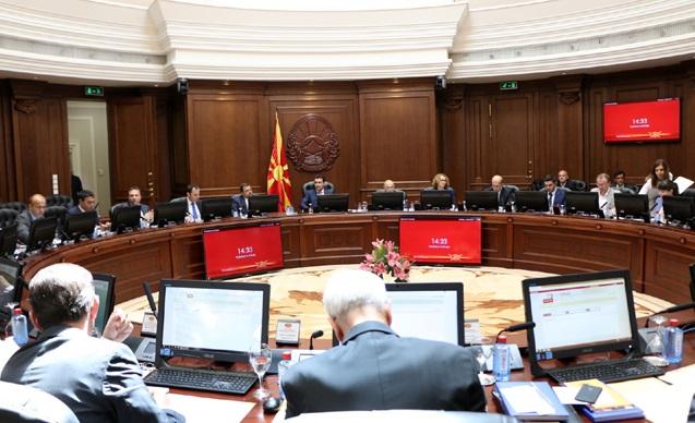 Makedonya Hükümeti görev dağılımı yaptı