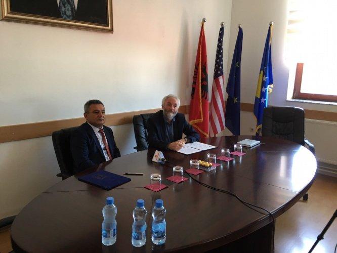 ÇOMÜ ile Gjakova ve Prizren Üniversitesi işbirliği.