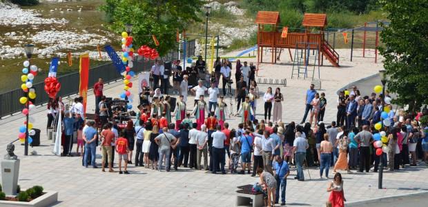 Karadağ Şavnik Şehir Meydanı TİKA Tarafından Yenilendi
