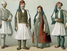 Yerel Arnavut Kıyafetleri
