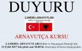 İzmir Çameria Arnavutları Derneği – Arnavutça Kursu