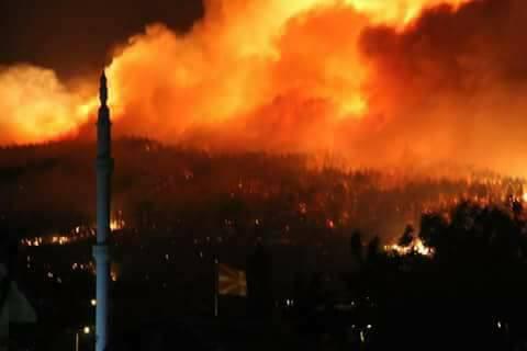 Makedonya Yandı – Son Durum – Më e madhe e zjarreve
