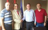 Kosova Kültür Merkezine Lübnan'dan Arnavut Ziyaretçi