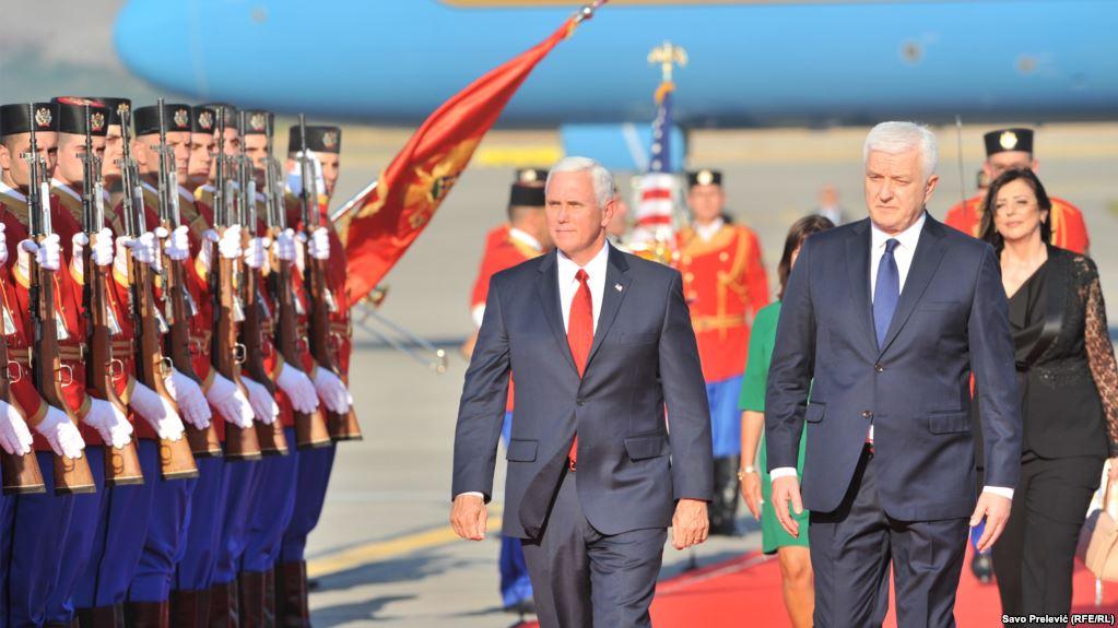 ABD Başkan Yrd. Mike Pence Karadağ'da Rusya'yı Suçladı