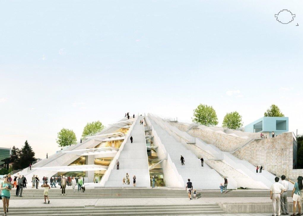 Tirana Piramidi Yenileniyor
