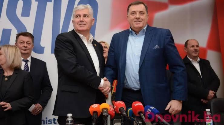 Bosna Hersek'in ayrılıkçı Sırp ve Hırvat Liderine ABD'den uyarı.