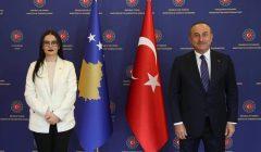 Haradinaj, Çavuşoğlu ile görüştü.