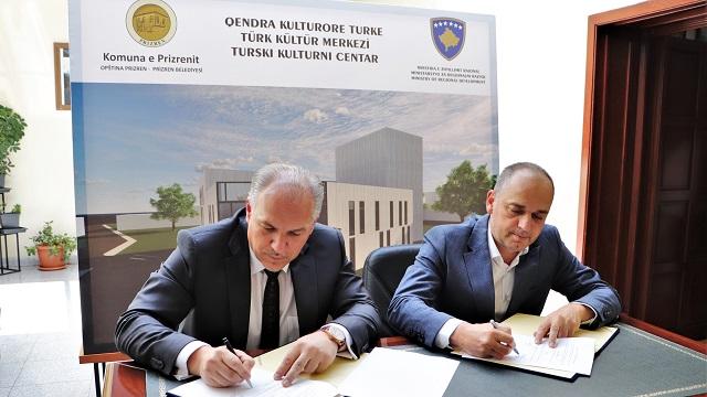 Kosova'da Türk Kültür Merkezi inşa edilecek