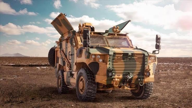 Kosova Ordusu VURAN 4×4 satın aldı.